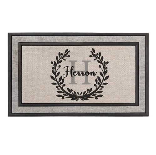 Laurel Wreath Doormat