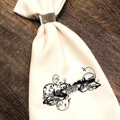 Nashville Music City Kitchen Towel
