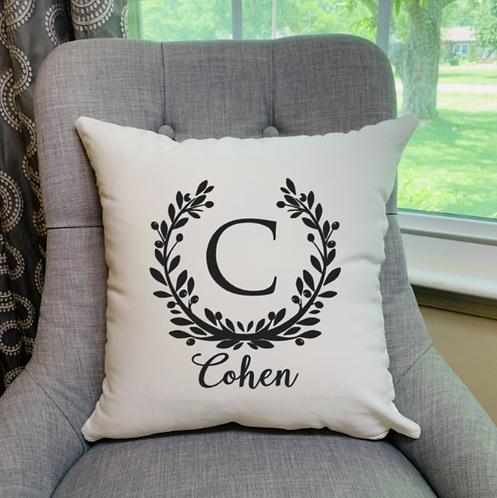 Laurel Wreath Pillow