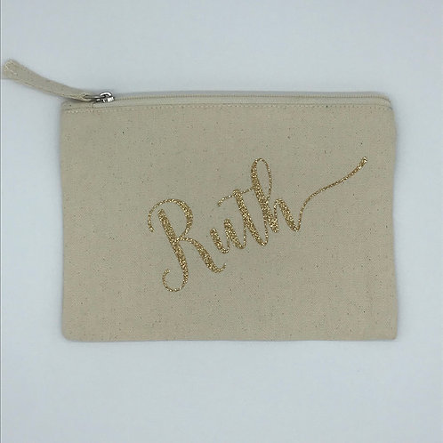 Personalized Name Pouch