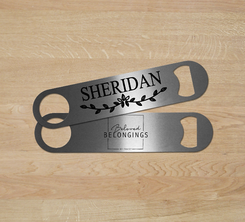 Sheridan Design Personalized Bottle Opener