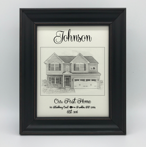 """Our First Home"" Keepsake"