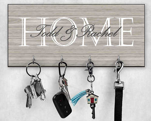 Home Personalized Key Hanger