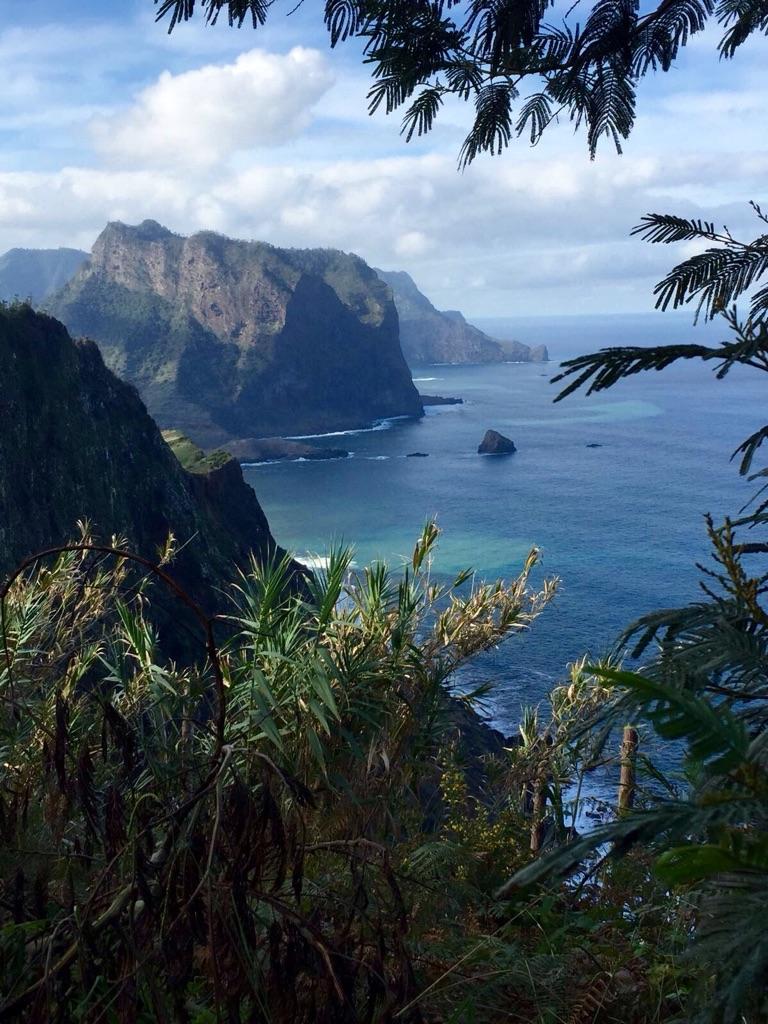 Ausblick über die Küste Madeiras