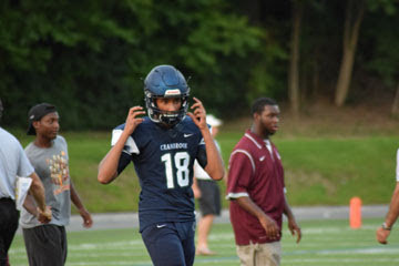 The Bloomfield Hills Cranbrook Cranes (2-0) overpower the Detroit University Prep Panthers (0-1) 44-