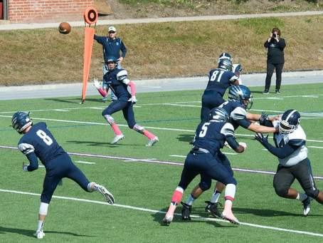 The Bloomfield Hills Cranbrook Cranes (6-2) (4-1) fall to the Detroit Loyola Bulldogs (7-1) (3-1) 30