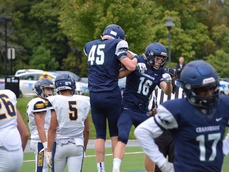 The Bloomfield Hills Cranbrook Cranes outlast the Walled Lake Central Vikings 28-25, move to 4-1 on