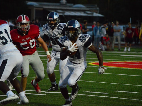 Cranbrook hangs tough in CHSL crossover game; falls to Divine Child 28-14.