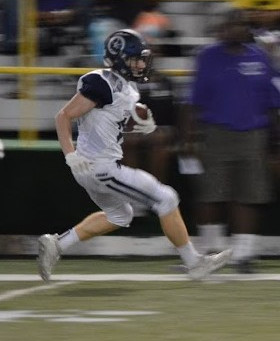Cranbrook falls to U of D Jesuit 40-3; drops to 1-1 on the season.