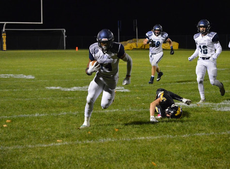 Cranbrook gets past Macomb Lutheran North 24-15; wins tough game on the road.