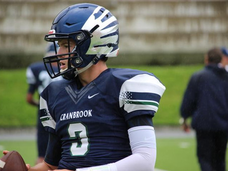 Game Preview-The Bloomfield Hills Cranbrook Cranes to face the Redford Union Panthers in Season Open