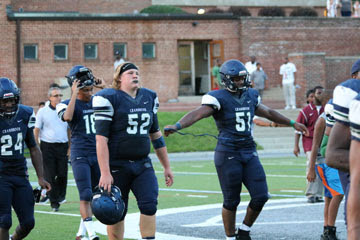 The Bloomfield Hills Cranbrook Cranes (2-1) outmatched by the Harper Woods Chandler Park Eagles (1-2