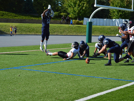 Cranbrook outlasts Riverview Gabriel Richard 15-7; moves to 2-1 on the season.