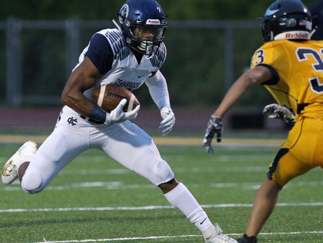 Cranbrook slips past the Walled Lake Central 10-0; Muhammad breaks 81-yard scamper in victory.