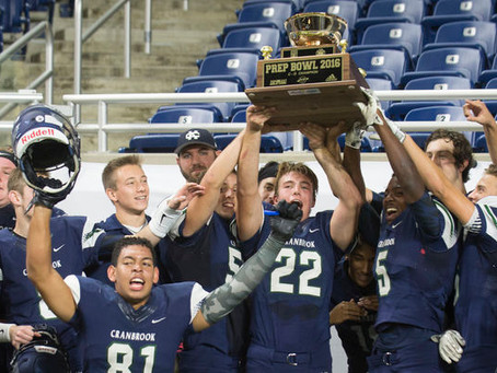 Season Preview-The Bloomfield Hills Cranbrook Cranes to defend league title in 2017