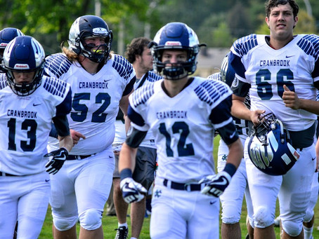 The Bloomfield Hills Cranbrook Cranes (3-0) (1-0) to face the Dearborn Divine Child Falcons (3-0) in