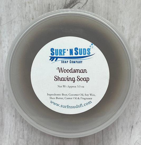 Woodsman Shaving Soap