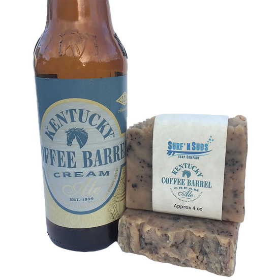 Kentucky Coffee Barrel Cream Beer Soap
