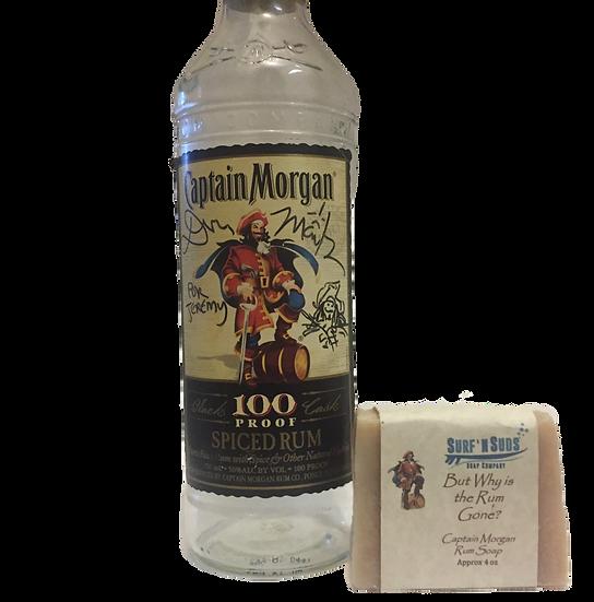 Captain Morgan - Rum Soap