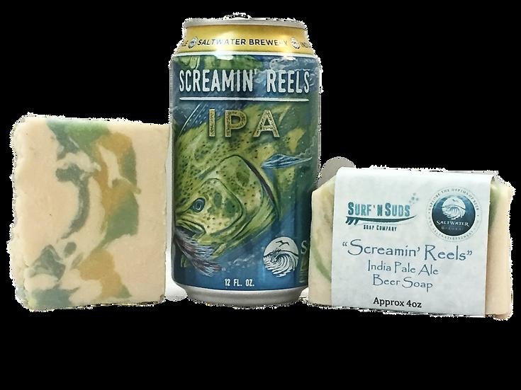 Saltwater Brewery's Screamin' Reels - Beer Soap