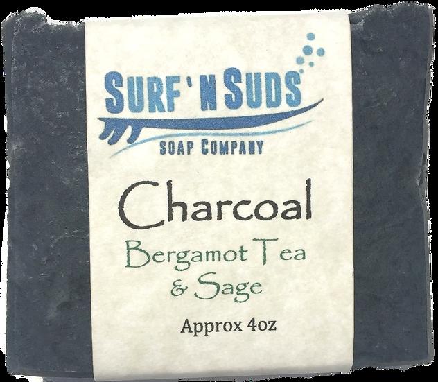Charcoal with Bergamot Tea & Sage