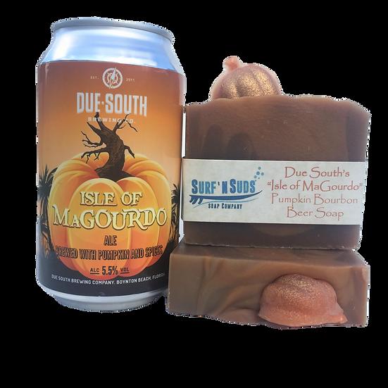 Pumpkin Bourbon Beer Soap