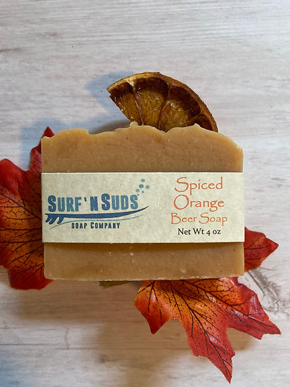 Orange Clove with Pumpkin Beer Soap