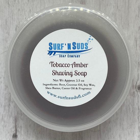 Tobacco Amber Shaving Soap