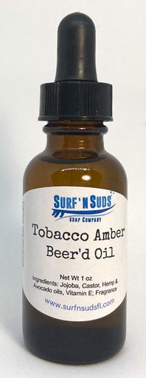 Tobacco Amber Beard Oil