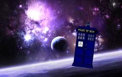 Tardis dans l'espace