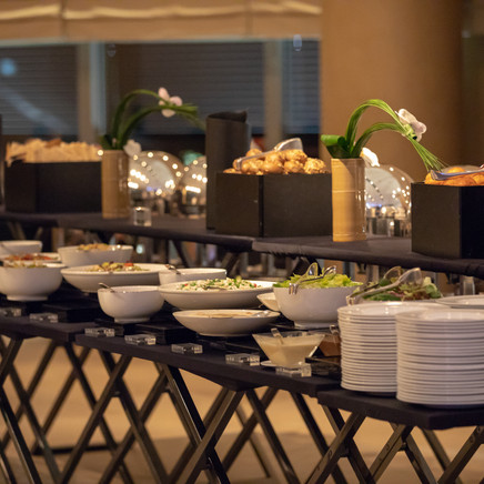 Dinner SetUp At The Launch Party For The Infinix Mobile Phone Launch