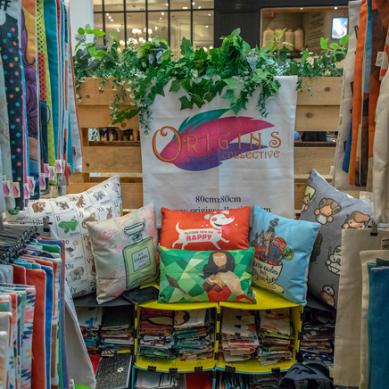 Cushion Stall At Ripe Market