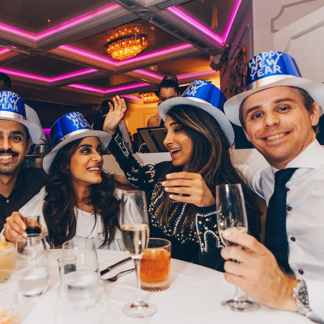 Friends Celebrating NYE2018