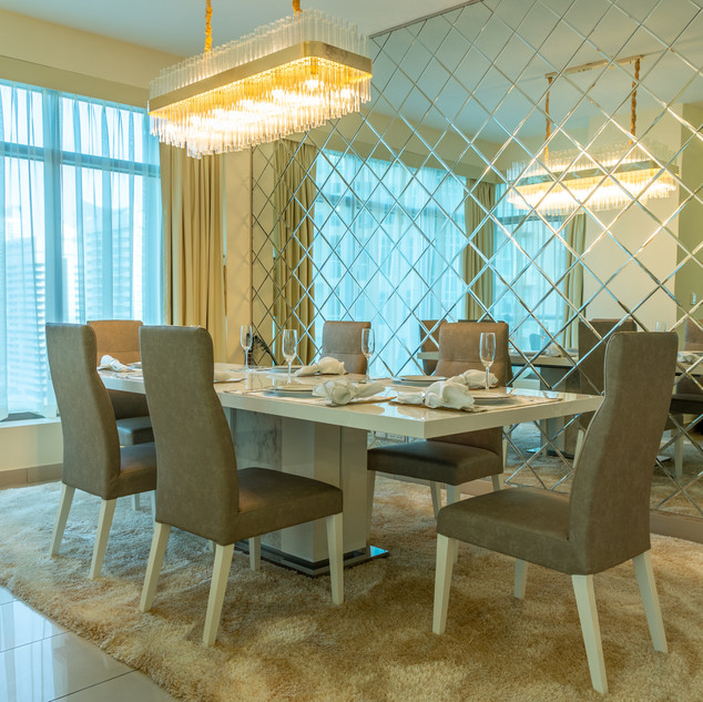 Interior Photography Of A Dining Room