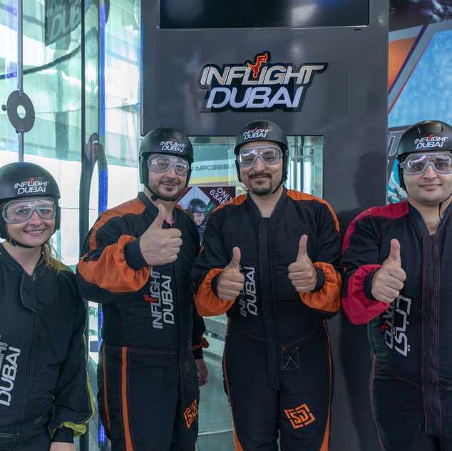 SkyDive Dubai Group Activities