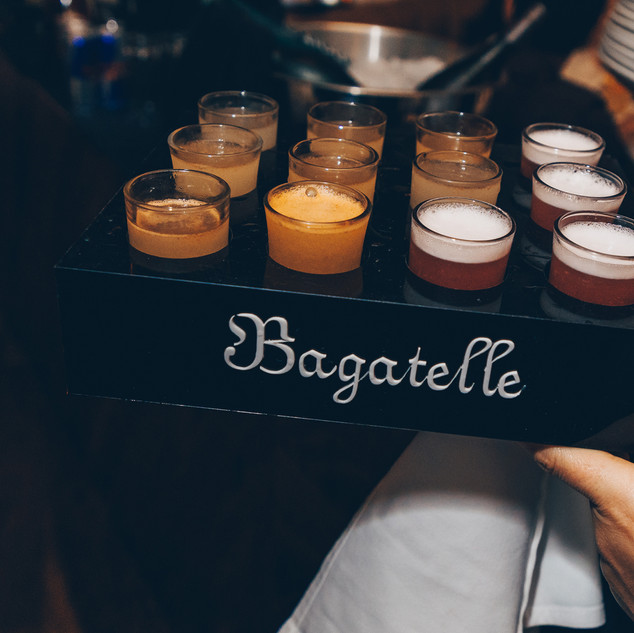 Shot Drinks On A tray