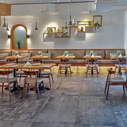 Interior Photography Of A Cafe In Dubai