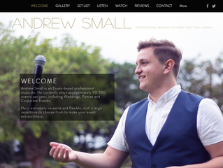 Check out my new website!