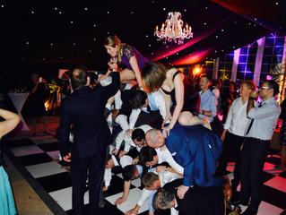 Weddings Guests, Booze and a Human Pyramid