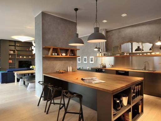 GAO Architects 在斯洛維尼亞的獨特項目:一個現代公寓設計及特殊塗料應用