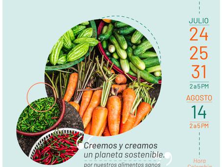"""""""Creemos y creamos un planeta sostenible"""" Por nuestros alimentos sanos"""