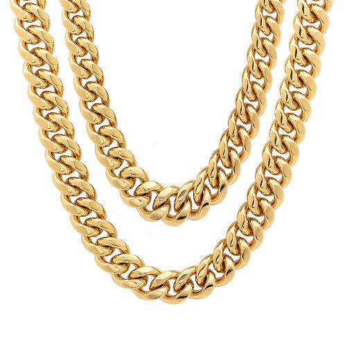 Gold Chains & Necklaces