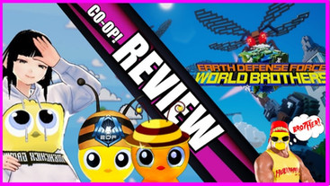 Earth Defense Force: World Brothers Review(PS4)