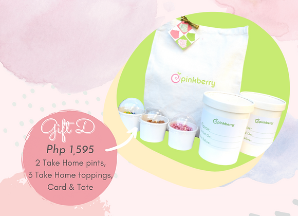 PINKBERRY TAKE HOME GIFT D