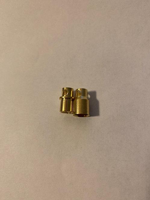 Castle style 8 MM Bullet Connectors 1 Pair