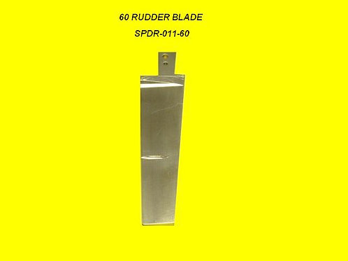 Speedmaster 60 Single PU Rudder Blade Only