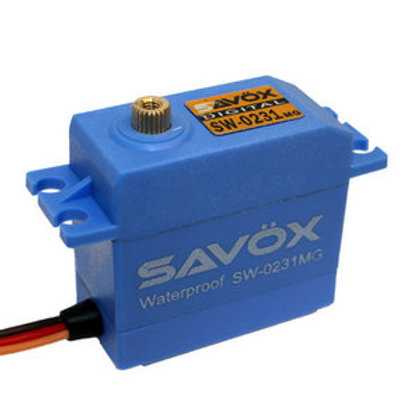 Savox 0231MG Waterproof Servo (208 OZ TORQUE)