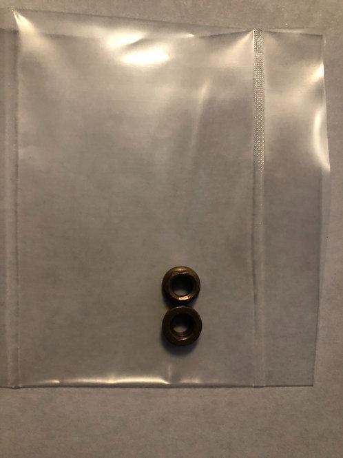 Zuber Prop Nut (2)Pack 10-32 thread