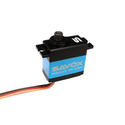 Savox 1250 Mini Waterproof Servo SAVSW1250MG