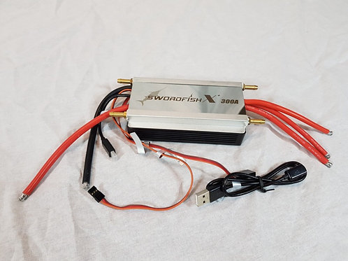 Swordfish X 300 CW 4-14S ESC with data logging